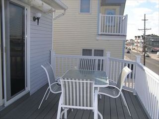 Sea Isle City townhome photo - Front view (our place is on the right side), townhome