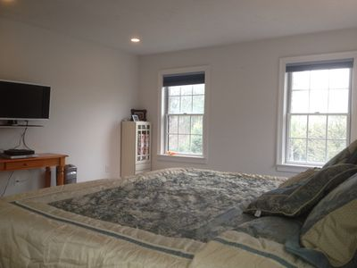 Nantucket Town house rental - Master bedroom 2nd floor