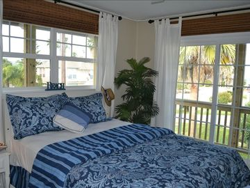 Beautiful 2nd bedroom with large closet, Bay view and door to wrap around porch.