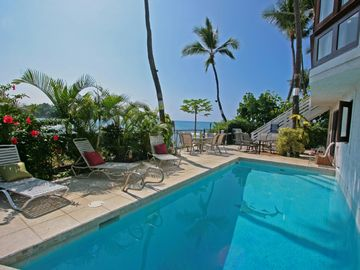 Kailua Kona house rental - Fantastic Oceanfront Location on Kona's Alii Drive