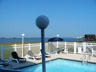 "Fenwick Island townhome photo - Relax and play in our ""Pool on the Bay"""