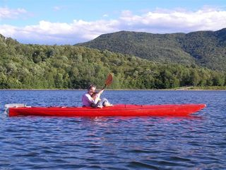 Chittenden house photo - Kayaking on the lake