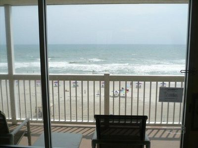 Oceanfront view from the room