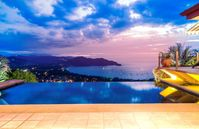 Amazing view of Plays Del Coco, Stunning house!!!