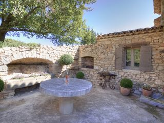 Gordes farmhouse photo - Outside Barbecue Area