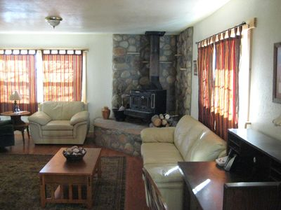 Ranch house living room