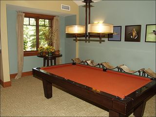 Avon house photo - On-Site Game Room Includes a Pool Table
