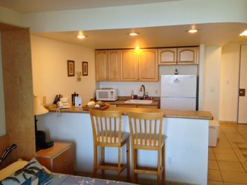 Kihei studio rental - Fully Equipped Kitchen.