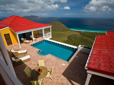 image for Villa MAT SUP - Sunny villa with a wide view of neighboring islands and the sea.