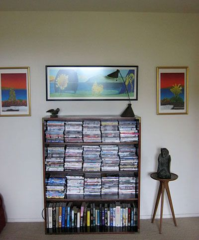 Entertainment library