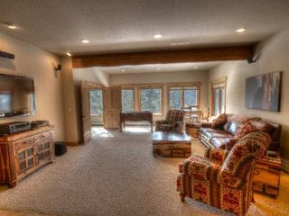 Estes Park house photo - Family Room on Lower Level with Queen Sleeper Sofa
