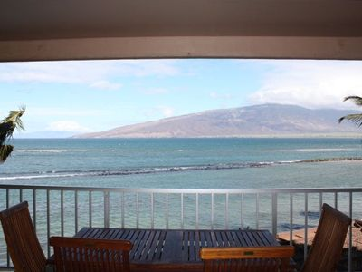 View from Living room / Lanai area