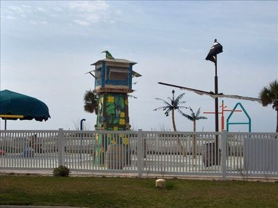 Children's Splash Garden located gulfside