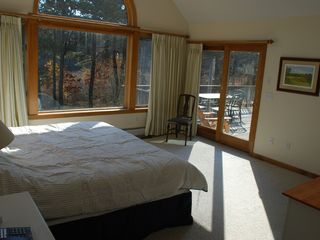 Chatham estate photo - Main floor master bedroom to deck