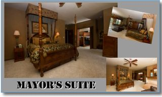 Castro Valley estate photo - Mayor's Suite, Sleeps 9 1 queen, 2 double Bunks), 2 twin, 1 twin sofa sleeper