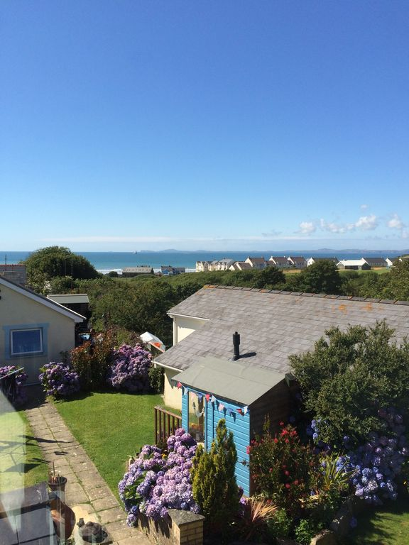 Quiet village location with sea views