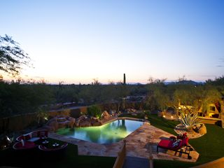 Scottsdale house photo - breathtaking, unobstructed desert views from second story balcony