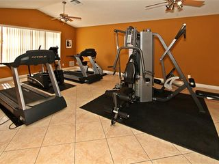 Crystal Cove villa photo - gym in clubhouse