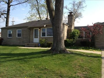South Bend house rental - Much bigger than it looks! Lots of room for guests and entertaining.