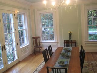 Atlanta house photo - Dining room with French doors to the garden.