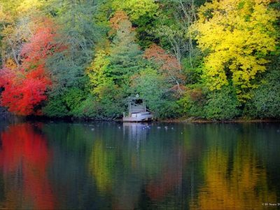 Mirror Lake in the Fall is Absolutely Breathtaking.