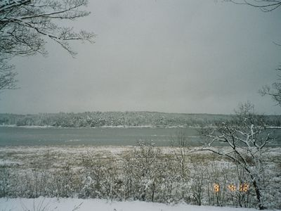 Winter Riverview From Front of House
