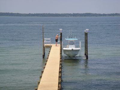 We have added a dock and boat lift this summer (2012) - a really great addition!
