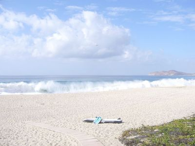 Cabo San Lucas condo rental - private beach