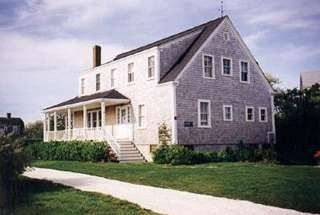 Brant Point house photo - Exterior from Swain Street
