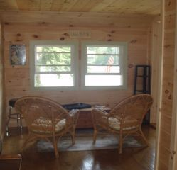 Crescent Lake cottage photo - Sun room view