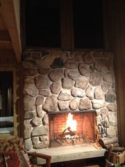 North Conway townhome photo - Fireplace