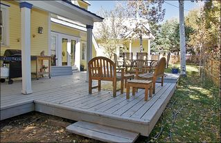 Steamboat Springs house photo - Back Yard with Grill, Multiple sitting areas