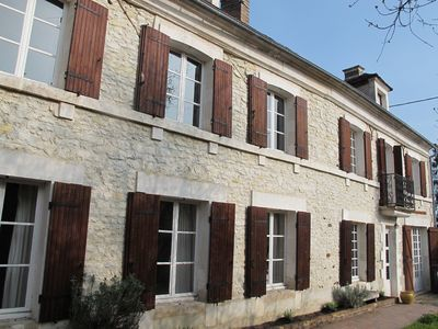 Beautiful Village House In Lindry, Nr Auxerre, Burgundy