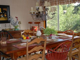 Lake Arrowhead house photo - Dining area