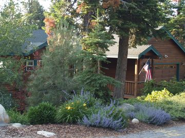 Angora Highlands house rental - Beautiful Home in a Tahoe Mountain Setting, fully landscaped for outdoor living
