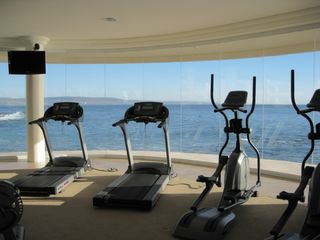 Rosarito Beach condo photo - Water front gym with a beautiful view
