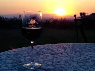 Finish your day with your favorite wine - Temecula estate vacation rental photo