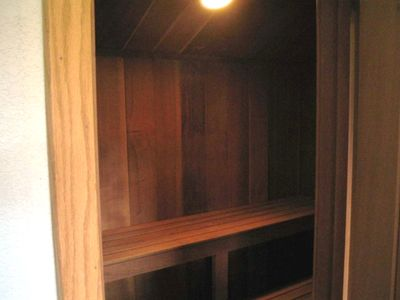 Private Sauna in Loft Area