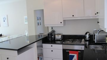 Beautiful Kitchen, granite counter tops, brand new appliances and great coffee!!