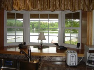 Winchester apartment photo - View of lake from Bay window in Kitchen