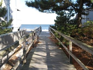 Bethany Beach house photo - boardwalk access to beach