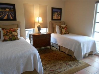Sanibel Island house rental - twin bedroom