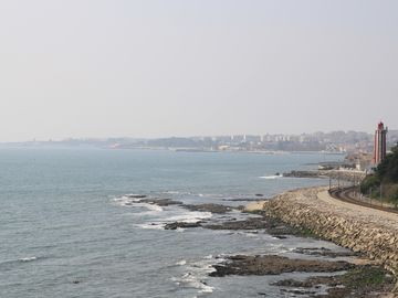 Oeiras coast, view from Lisbon side