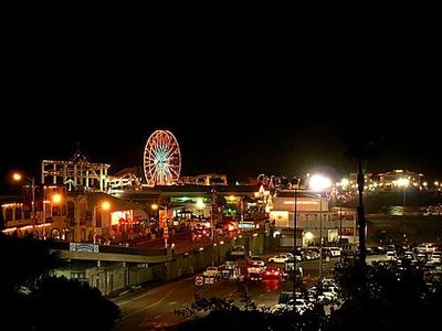 Santa Monica Pier & Great Santa Monica Shopping; 3 miles away
