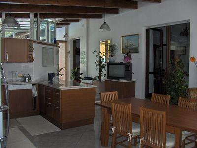 Orsogna villa rental - A very large kitchen and breakfast room