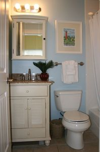 Duck Key villa rental - Master Bath with Larger vanity than other villas