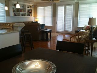 Wrightsville Beach condo photo - Dining room to family room