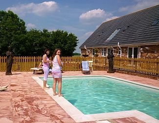 4 Star Plus Newly Finished Holiday Cottage, Sleeping 6, With Pool
