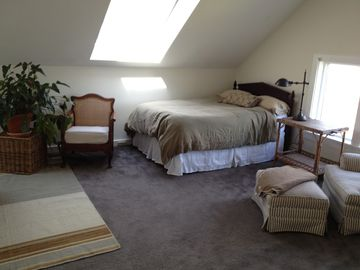 Spacious second floor bedroom