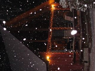 First snow this season! - North Conway chalet vacation rental photo